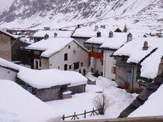 Bessans, Savoie, février 2016. Photo prise par Valérie Coutrot.
