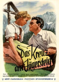 Poster zum Film: Kreuz am Jägersteig. 1954