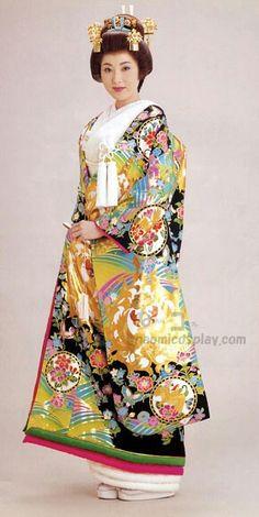 Wedding kimono | www.naomicosplay.com