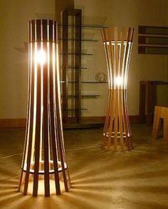 Confeccionadas a partir de materiais reaproveitados ou adaptados, as luminárias artesanais fornecem uma iluminação diferenciada, ao mesmo tempo em que compõem a decoração - Reprodução/Bonde