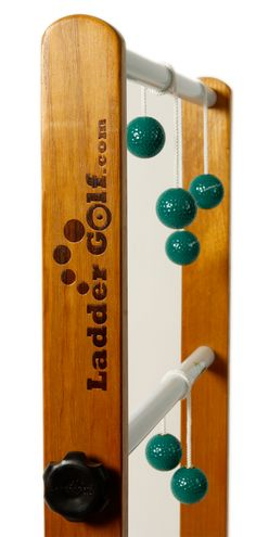 Ladder Golf is the best Ladder Ball game on the market. That's a fact. It's made from the highest quality materials, the design is superior to other games and it plays better than any other game of its type on the market.