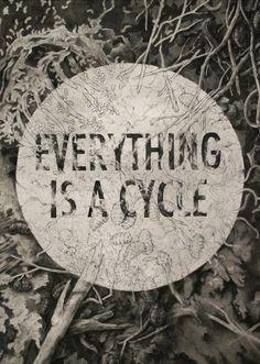 Teagan WhiteON TUMBLR EVERYTHING IS A CYCLE