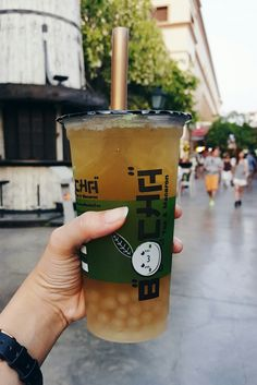 Bubble tea goodness.