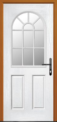 Composite Door 4 Panel Style. Affordable durable and secure. Design your very own custom made door online today itu0027s easy at Just Value Doors   Pinterest  sc 1 st  Pinterest & Composite Door 4 Panel Style. Affordable durable and secure ... pezcame.com