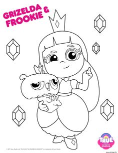 True and the Rainbow Kingdom Party Printables – SKGaleana Third Birthday, Baby Birthday, Birthday Party Themes, Themed Parties, Coloring For Kids, Coloring Pages For Kids, Coloring Sheets, Party Printables, Rainbow Baby