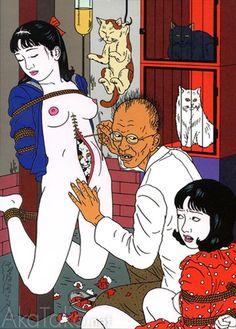 "akatako: "" Toshio Saeki """