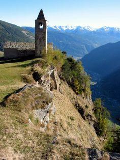 Church of San Romerio, Poschiavo, East, Switzerland Copyright: Radek Rukat