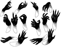 Hand Drawing Reference, Drawing Reference Poses, Drawing Poses, Drawing Hands, Drawing Tips, Drawings Of Hands, Injured Pose Reference, Hand Drawings, Demon Drawings