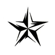 tribal_nautical_star__tattoo_design_32.jpg (310×310)