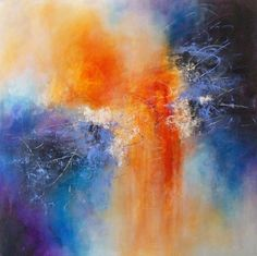 "Contemporary Painting - ""Cosmic Energy"" (Original Art from Karen A. Taddeo)"