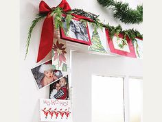DisplayingChristmasCards-Doorway