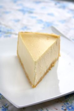 BEST EVER New York cheesecake - rich, creamy and so smooth.