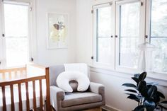 Before & After: A Long Narrow Room Becomes A Shared Solution White Nursery, Nursery Neutral, Boho Nursery, Long Narrow Rooms, European Decor, Toddler Rooms, Nursery Inspiration, Nursery Ideas, Other Rooms