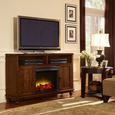 Pleasant Hearth Brighton Media Electric Fireplace $399 after 60 off thru 11/11/12