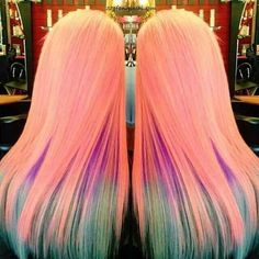 The new web for people who love hair! Pastel Hair, Ombre Hair, Pink Hair, Locks, Coiffure Hair, Blond, Natural Hair Styles, Long Hair Styles, Cool Hair Color