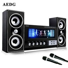 Bringing the rave to your home? This mega bass rave sound system will make that party of yours extra lit. Comes with microphone for those fun duets with your fr Desktop Speakers, You Are The Father, Multimedia, Bass, Bluetooth, Songs, Tv, Gadgets