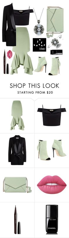 """""""Always be unique with jewelry totwoo!"""" by sanela-enter ❤ liked on Polyvore featuring Givenchy, Lipsy, IRO, Grey Mer, Kate Spade, Lime Crime, Marc Jacobs, Chanel and totwoo"""
