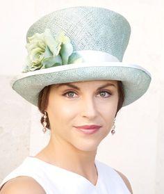 d4e559092d1 Wedding Hat Derby Hat Ascot hat Church Hat Aqua by AwardDesign Occasion Hats