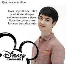 Memes Estúpidos, K Meme, Exo Memes, Disney Channel, Baekhyun, Drama Memes, Exo Ot12, Kpop Exo, Bts And Exo