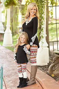 Mommy Brown Sugar Leggings - Ryleigh Rue Clothing by MVB