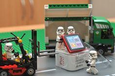 Really impressive Star Wars lego photographs. #lego