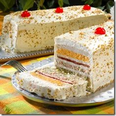 Sandwichon.  It's not a cake. It's a frosted sandwich. Yum.