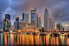 Singapore ~ 15 Spectacular Skylines Around the World «TwistedSifter