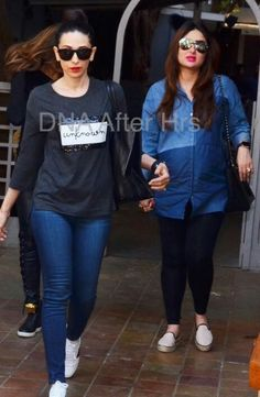 Kareena Kapoor rocks her last week of pregnancy in style post a day out with friends!