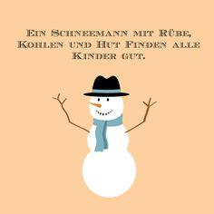 #schneemann #sprüche #winter