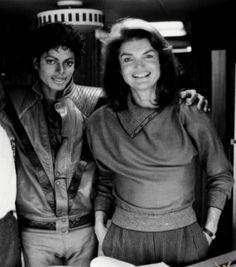 Michael Jackson & Jackie Kennedy Onassis