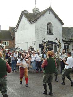 Abbots Bromley Horn Dance - - Abbots Bromley Horn Dance - Wikipedia, the free encyclopedia Herne The Hunter, Ritual Dance, Medieval Fair, Underworld, Bradley Mountain, Horns, Tent, England, Bonfires