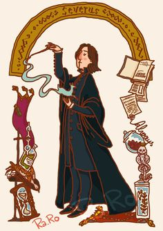 Snape by RaRo81 on DeviantArt #harrypotter #fanart