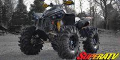 #SuperATV #CANAM #TerminatorTires #ATV #Renegade #RhinoAxles
