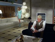Set design on Gerry Anderson's UFO.  The Modtastic World of Gerry Anderson's UFO by modern_fred, via Flickr