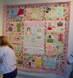 Original Paper Doll Quilt Kit Complete Windham Fabrics