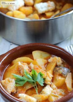 Patatas con bacalao, receta clásica