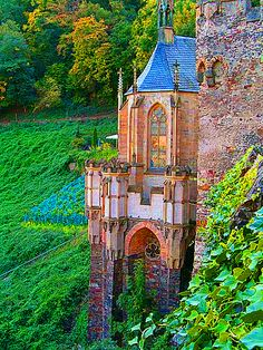 Medieval, Castle Rheinstein, Germany