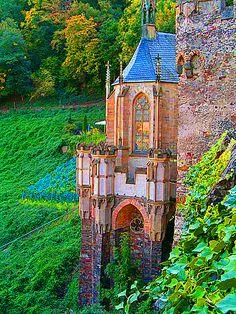Medieval, Castle Rheinstein, Germany__ mom♥