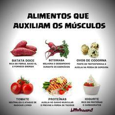 Saúde para os músculos.💪