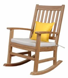 Looking for Anderson Teak Palm Beach Collection Rocking Armchair Without Cushion ? Check out our picks for the Anderson Teak Palm Beach Collection Rocking Armchair Without Cushion from the popular stores - all in one. Outdoor Patio Swing, Beach Patio, Beach Chairs, Outdoor Dining, Teak Rocking Chair, Outdoor Rocking Chairs, Adirondack Chairs, Glider Chair, Wood Patio