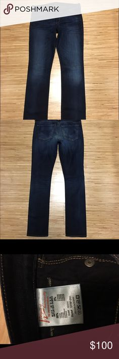 Citizens of Humanity 'Ava' Straight Leg Stretch Citizens of Humanity 'Ava' Straight Leg Stretch (Oxford Wash). Jeans worn 1 time, no wear marks, clean, size 30. Citizens of Humanity Jeans Straight Leg
