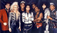 Jackson and  Band Bad tour 1988