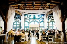 Wedding Decorations Ideas with Fabrics - Drapery Ideas For Weddings
