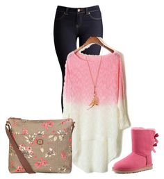 """""""Untitled #600"""" by engy-674 ❤ liked on Polyvore featuring Joules, Nica and UGG Australia"""