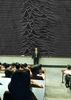 """""""If you take anything away from today's class, it's that Love will always Tear Us Apart. Any questions?"""" #JoyDivision"""