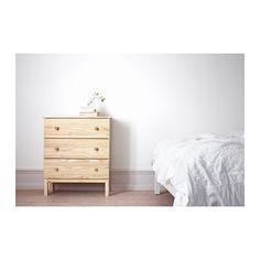 TARVA Lipasto, 3 laatikkoa  - IKEA