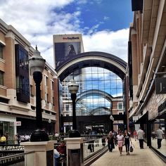 City Creek Center in Salt Lake City, Utah. Shopping is just a few minutes away from the University.