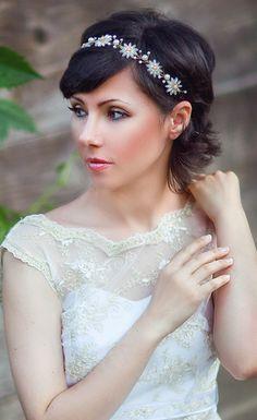 pearl tiara, wedding headbands, wedding tiaras