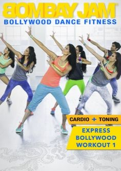 Bombay Jam Express Workout 1 - This Bollywood-inspired dance workout features 4 cardio-pumping dance segments and an Abs toning segment. Set to incredible Bollywood hits!