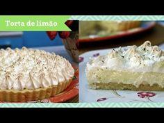 Aprenda a fazer uma torta de limão simples em casa. O momento da sobremesa pode ser muito mais gostoso com um doce azedinho na medida certa! Chocolate, Cheesecake, Pie, Cupcakes, Desserts, Food, Youtube, Cake Roll Recipes, Delicious Recipes